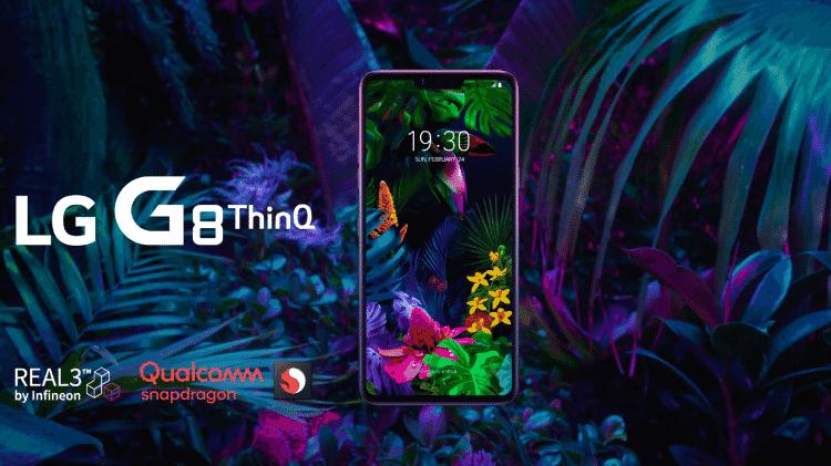 LG G8 ThinQ - Reprodução