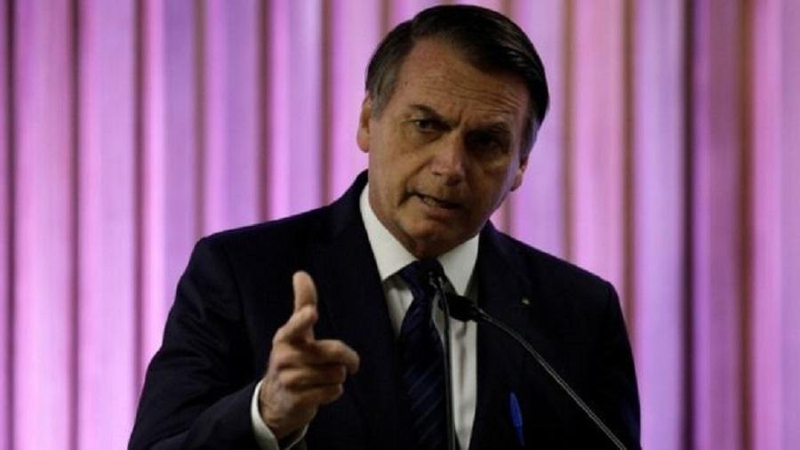 O presidente Jair Bolsonaro (PSL) - Reuters