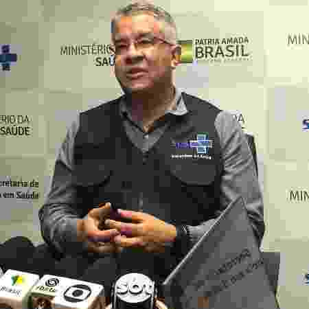 Wanderson de Oliveira, secretário de Vigilância em Saúde - Luciana Amaral/UOL