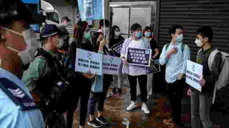 Ativistas pediram que milhões fossem para as ruas para protestar contra a lei - Reuters - Reuters