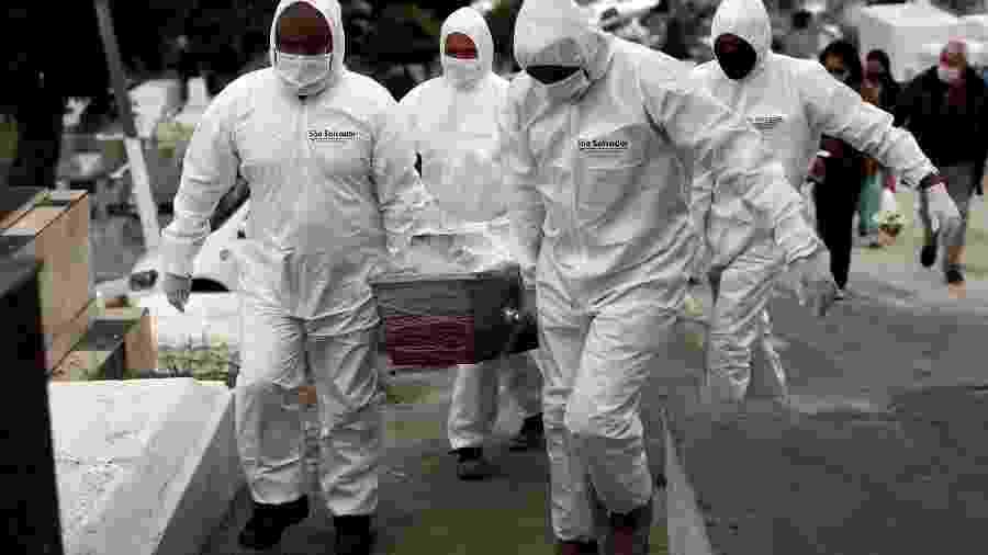 Nas últimas 24h, os três países onde houve maior número de novas mortes foram Estados Unidos (1.211), Brasil (1.129) e Índia (764) - PILAR OLIVARES