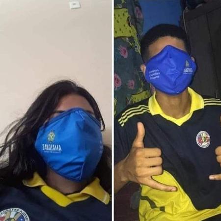 Máscaras gigantes viram memes no Amazonas - Reprodução/Twitter