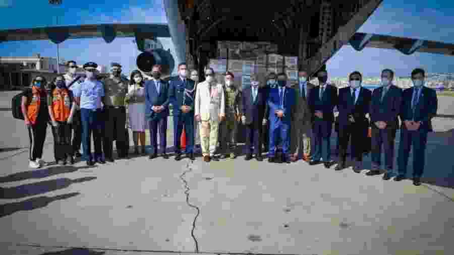 Comitiva brasileira chega ao Líbano para entregar ajuda humanitária - Divulgação/Ministério da Defesa