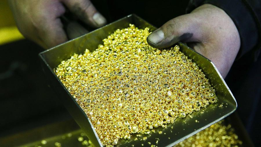 Quase 50 toneladas do ouro exportado pelo Brasil entre 2019 e 2020 tem indícios de que saíram de áreas de mineração ilegal - Getty Images