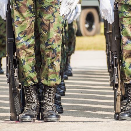 As Forças Armadas já registraram, até 5 de abril deste ano, 50.616 casos de covid-19 entre militares da ativa - iStock