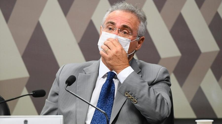 Apesar das investidas do governo, senador Renan Calheiros (MDB-AL) foi escolhido relator da CPI da Covid - Jefferson Rudy/Agência Senado