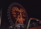 Amigos são 'esquecidos' a 65 metros de altura em roda gigante de SC