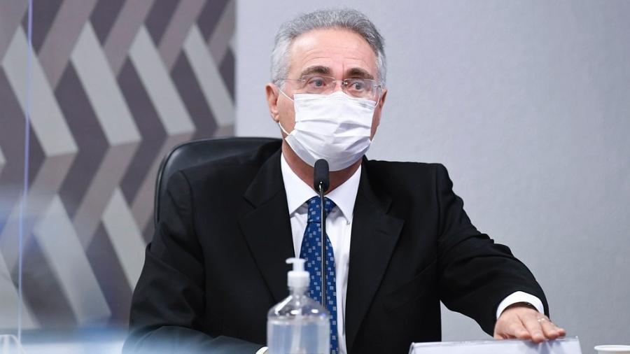 O senador Renan Calheiros (MDB-AL) é relator da CPI da Covid - Jefferson Rudy/Agência Senado