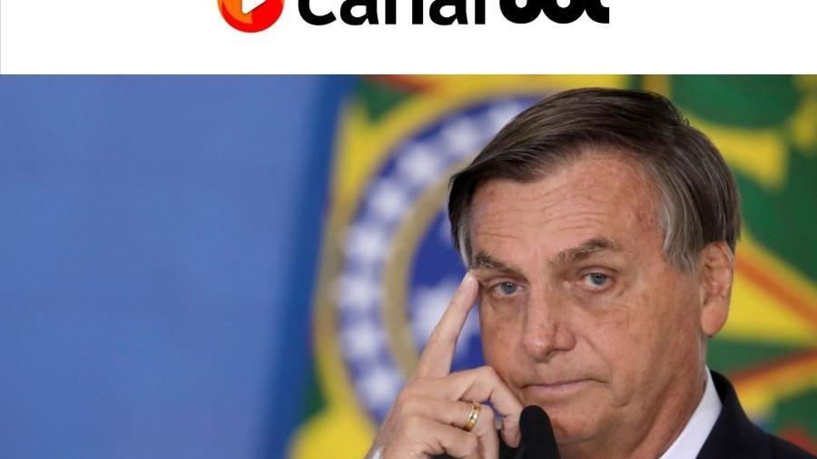 No discurso, Bolsonaro não citou quais seriam as irregularidades e usou o programa social para citar a reestruturação feita no seguro defeso - Reprodução/UOL