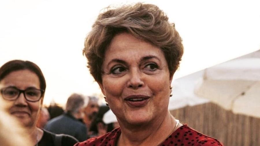 14.set.2019 - A ex-presidente Dilma Rousseff (PT) em evento em Paris, na França - Reprodução/Instagram