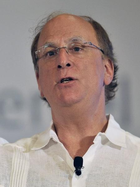 Larry Fink, presidente executivo da BlackRock - Pedro Pardo/AFP Photo