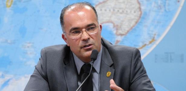 O diretor da Polícia do Senado, Pedro Ricardo Araújo Carvalho, preso nesta sexta-feira