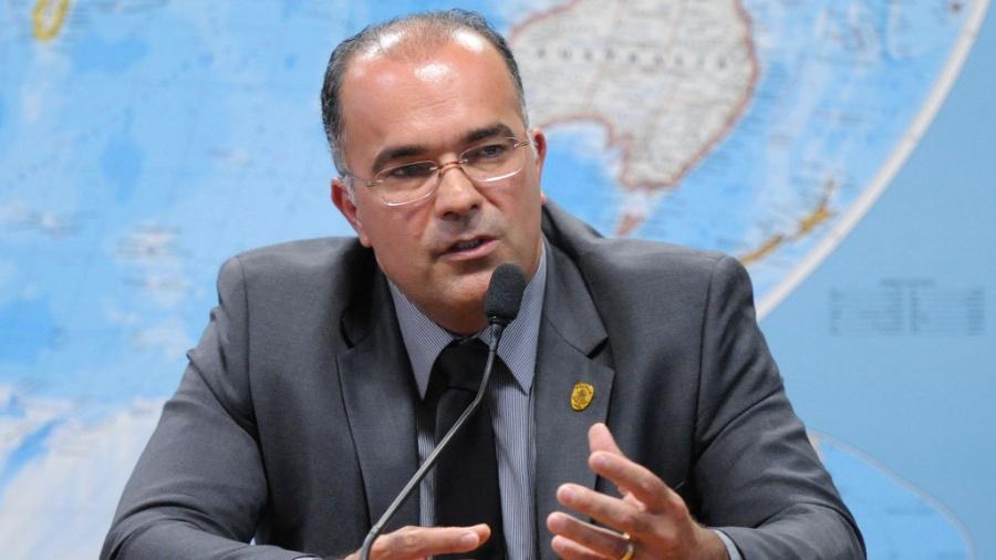 O diretor da Polícia do Senado, Pedro Ricardo Araújo Carvalho, preso nesta sexta-feira - Edilson Rodrigues 31.out.2014/Agência Senado