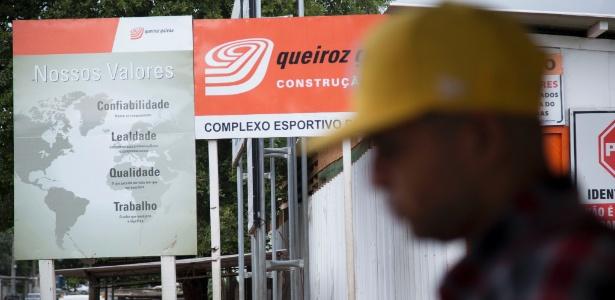 Obra da Queiroz Galvão, empresa denunciada pela força-tarefa da Lava Jato
