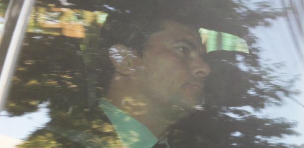 13.set.2017 - O juiz Sérgio Moro chegou ao prédio da Justiça Federal de Curitiba no fim da manhã e não falou com a imprensa. Ele vai interrogar o ex-presidente Lula