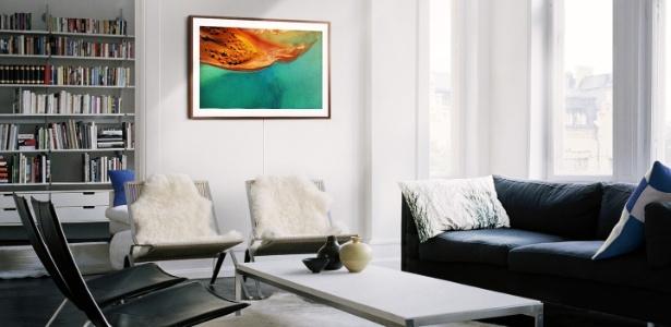 The Frame TV - TV da Samsung que vira quadro - Reprodução