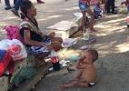 Mamadeiras de refrigerante: 'vício' em bebida agrava desnutrição em indígenas (Foto: Leandro Machado/BBC Brasil)