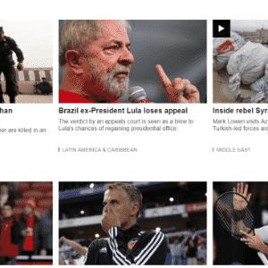 BBC prevê aprofundamento das divisões na sociedade brasileira - Reprodução
