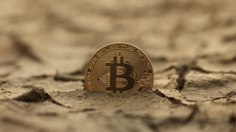 Bitcoin chegou a subir 12,5% durante a sessão da Ásia, para US$ 39.850,00, seu maior valor desde meados de junho - Getty Images