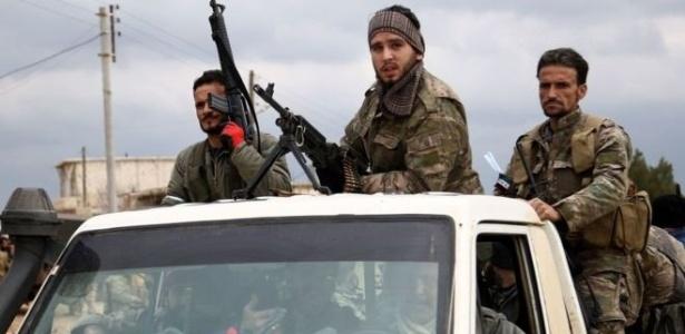 A ofensiva turca em Afrin coloca a Turquia diretamente contra os Estados Unidos, seu aliado na Otan - Getty Images