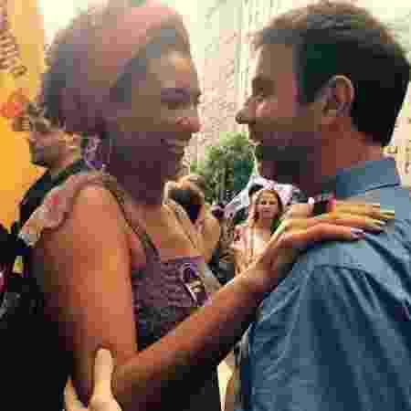 Marielle Franco e Marcelo Freixo em um ato de campanha, em 2016 - Reprodução/Facebook