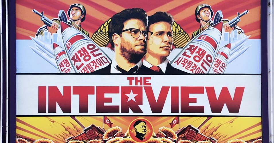 Em 2014, um filme norte-americano estrelado pelos comediantes James Franco e Seth Rogen tornou-se o principal ponto de crise entre EUA e Coreia do Norte