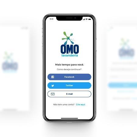 Omo Passa Fácil é 100% digital e realizado via aplicativo Omo Lavanderia - Divulgação