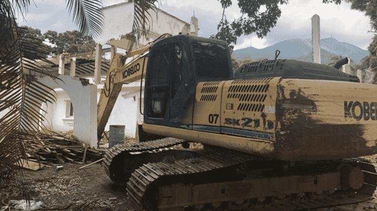 Muitas casas estão abandonadas, sendo demolidas ou foram vendidas a corpos diplomáticos - NORBERTO PAREDES
