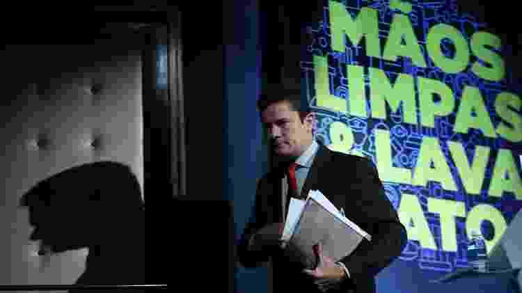 O então juiz federal Sergio Moro participa de debate sobre o legado da Operação Mãos Limpas, na Itália (Mani Pulite, em italiano) - Jorge Araujo - 24.out.17/Folhapress