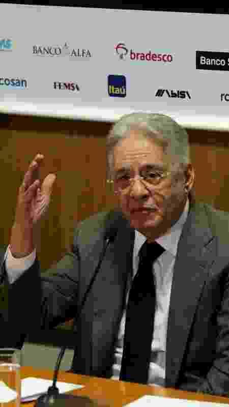 Ex-presidente Fernando Henrique Cardoso - HÉLVIO ROMERO/ESTADÃO CONTEÚDO - HÉLVIO ROMERO/ESTADÃO CONTEÚDO
