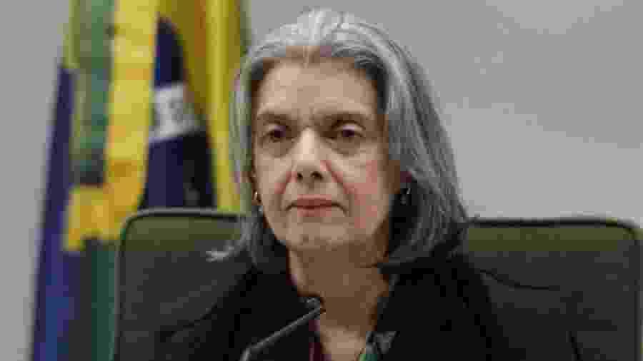 A ministra do STF Cármem Lúcia cobrou do presidente, Jair Bolsonaro, e do ministro do Meio Ambiente, Ricardo Salles, informações sobre o desmatamento na Amazônia - Divulgação