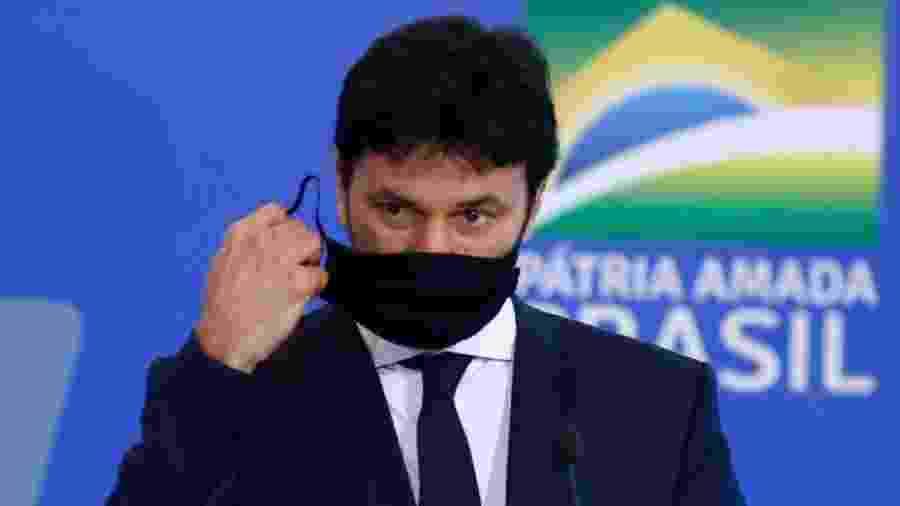 Fábio Faria, ministro das Comunicações. Indagado sobre exclusão dos chineses, ele deu a resposta errada - Sérgio Lima/Poder 360