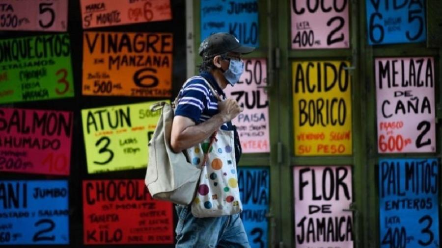 Venezuela completa sete anos consecutivos de contração econômica em 2020 - Getty Images via BBC
