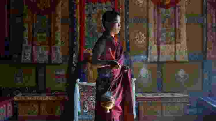 O incenso de Nado está presente em muitos incensários que os monges usam para remover energia negativa do ambiente - SIMON URWIN - SIMON URWIN
