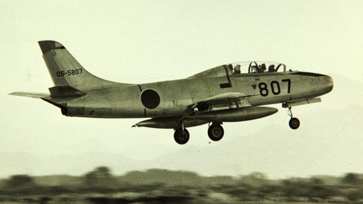 T-1, aereo da addestramento militare giapponese - Museo dell'Aria e dello Spazio di San Diego - Museo dell'Aria e dello Spazio di San Diego