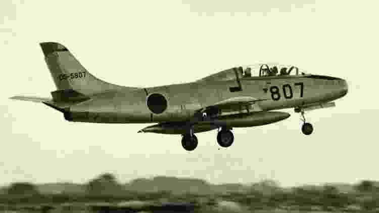 T-1, avião militar de treino japonês - Museu do Espaço e do Ar de San Diego - Museu do Espaço e do Ar de San Diego