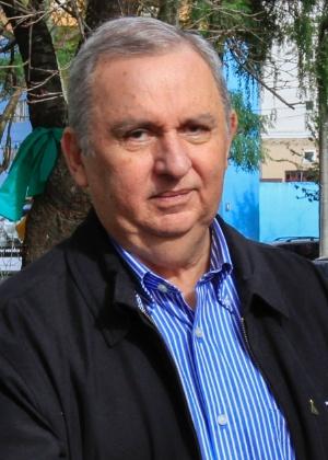O empresário e pecuarista José Carlos Bumlai chega para prestar depoimento à Justiça Federal do Paraná, em Curitiba