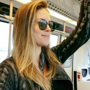 A fotojornalista Juliana Barros, que denunciou assédio