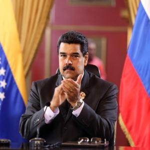 Participação de Maduro tinha aumentado as expectativas em relação ao evento - Xinhua/Presidencia de Venezuela