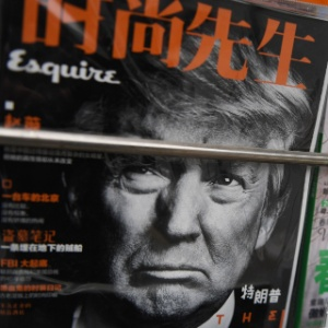 Revista chinesa dedica capa a Trump na semana da visita de Xi Jinping aos EUA