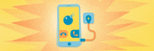 Falar ao celular enquanto ele está carregando pode provocar uma explosão? (Foto: Arte/UOL)