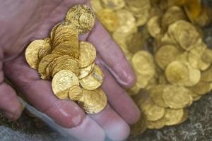 As revelações de tesouro descoberto por mergulhadores no fundo do mar em Israel (Foto: Jack Guez/Getty Images)