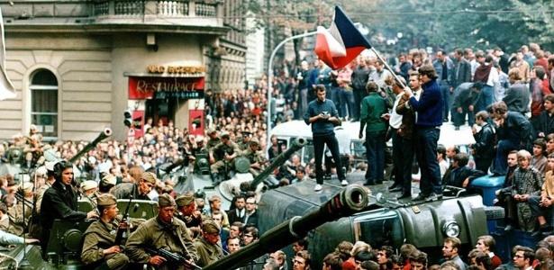 """Experimento do """"socialismo com rosto humano"""" na Tchecoslováquia deixou sementes de esperança para os próximos 20 anos"""