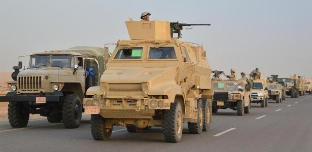 Exército egípcio tem realizado operação contra suspeitos de terrorismo no país