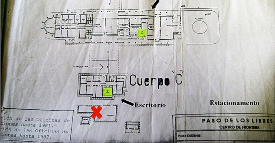 Informantes chamados de apontadores indicavam pessoas que cruzavam a ponte aos agentes argentinos, os quais eram levados a uma sala preparada para interrogatórios da aduana de Paso de Los Libres