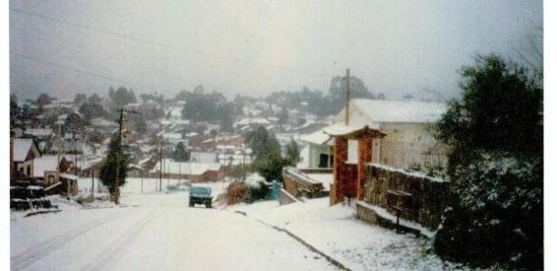Município gaúcho de São Francisco de Paula em 1994: neve depende de diversos fatores ao mesmo tempo
