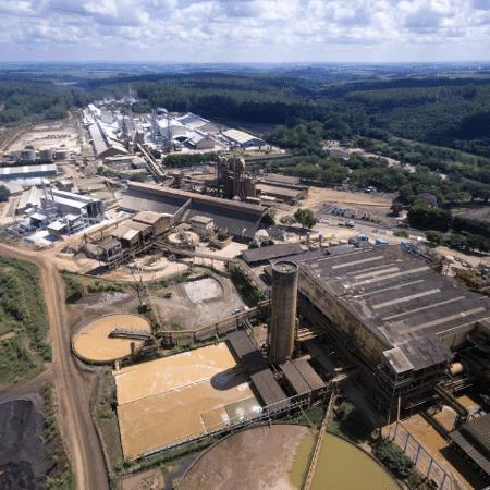 Área da mineradora Mosaic Fertilizantes em Araxá - Divulgação