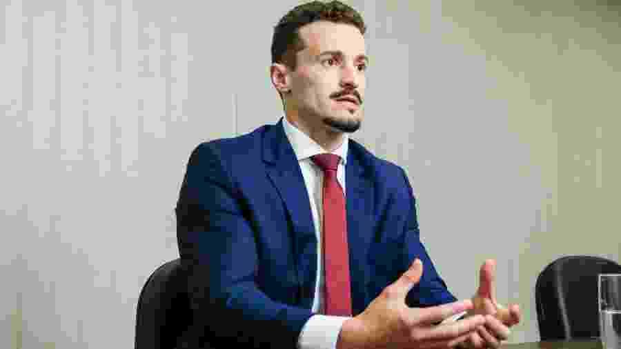 14.mar.2019 - Roberson Pozzobon, procurador que integra a força-tarefa da Lava Jato em Curitiba - Theo Marques/UOL