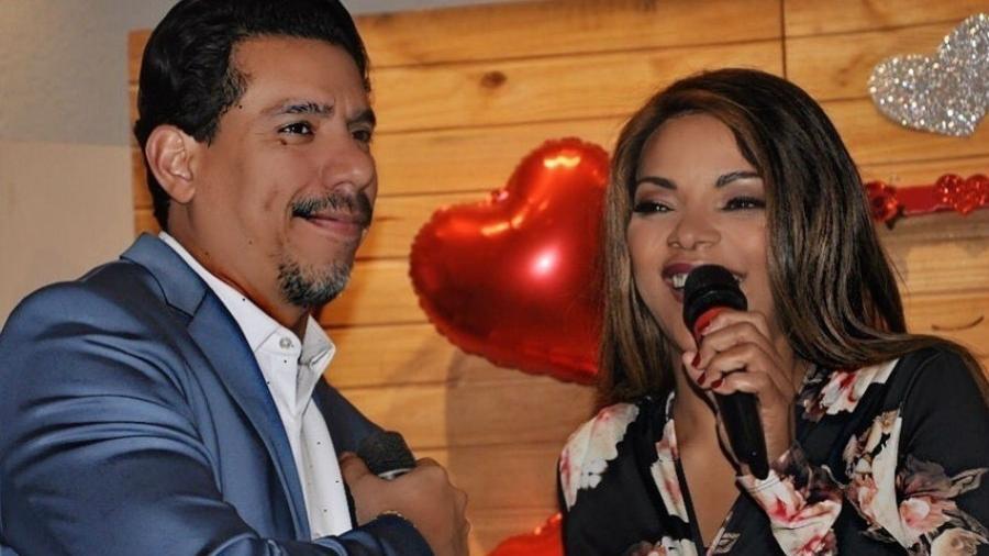 Flordelis e o marido Anderson do Carmo - Reprodução/Facebook