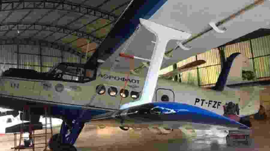 Avião Antonov An-2 da era soviética está à venda no Brasil - Divulgação